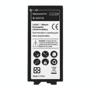 Voor LG G5 BL-42D1F 2800mAh oplaadbare Li-ion Battery(Black)
