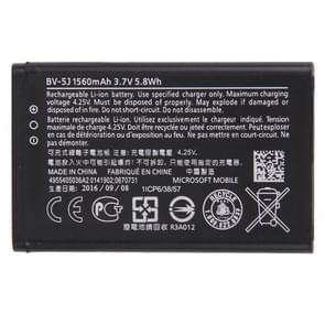 Voor Microsoft Lumia 435 / BV-5J Original 1560mAh oplaadbare Li-ion batterij