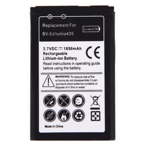 Voor Microsoft Lumia 435 / BV-5J 1850mAh oplaadbare Li-ion batterij