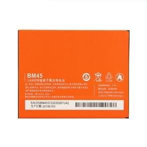 BM45 3020mAh Li-polymeer batterij voor Xiaomi Redmi Note 2