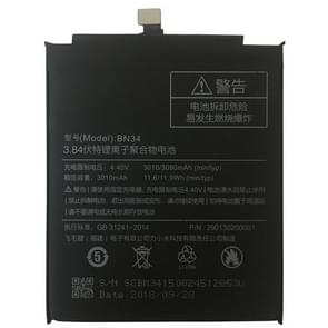 BN34 3010mAh Li-polymeer batterij voor Xiaomi Redmi 5A