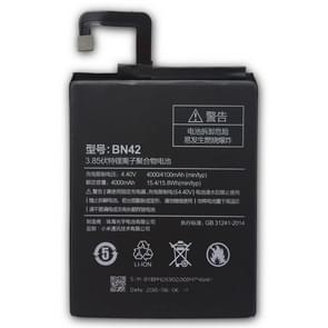 BN42 4000mAh Li-polymeer batterij voor Xiaomi Redmi 4