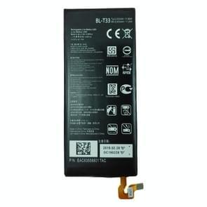 BL-T33 Li-ion polymeer batterij voor LG Q6 M700A M700AN M700DSK M700N