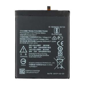 HE317 Li-ion Polymer Battery for Nokia 6 TA-1000 TA-1003 TA-1021 TA-1025 TA-1033 TA-1039