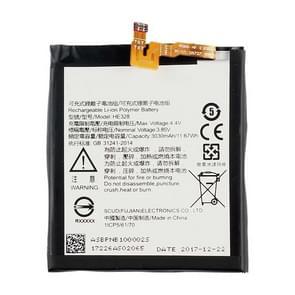 HE328 Li-ion polymeer batterij voor Nokia 8