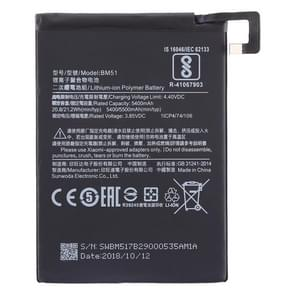 5400mAh Li-Polymer Battery BM51 for Xiaomi  Mi Max 3