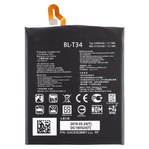 3300mAh Li-Polymer batterij BL-T34 voor LG V30