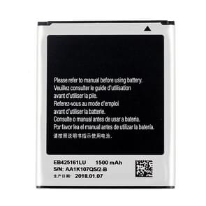 1500mAh Rechargeable Li-ion Battery EB425161LU for Galaxy J1 mini (2016) / J105H / S7562 / S7572 / S7580 / I739 / i759 / I669 / I8160