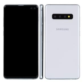 Black Screen Non-Working Fake Dummy Display Model for Galaxy S10+ (White)