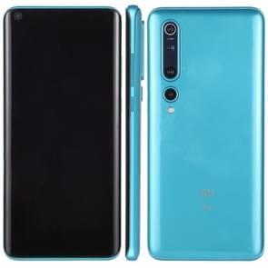 Zwart scherm niet-werkend nep dummy-displaymodel voor Xiaomi Mi 10 5G (Ice Blue)
