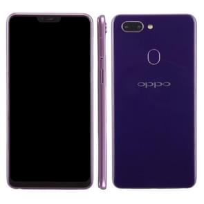 Dark Screen Non-Working Fake Dummy Display Model for OPPO R15(Purple)