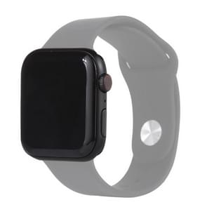 Black Screen Non-Working Fake Dummy Display Model for Apple Watch Series 6 44mm  For Photographing Watch-strap  No Watchband(Black)