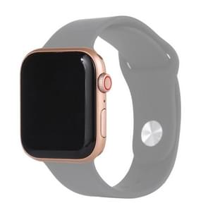 Black Screen Non-Working Fake Dummy Display Model for Apple Watch Series 6 44mm  For Photographing Watch-strap  No Watchband(Gold)