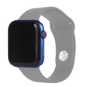 Black Screen Non-Working Fake Dummy Display Model for Apple Watch Series 6 44mm  For Photographing Watch-strap  No Watchband(Blue)