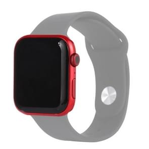 Black Screen Non-Working Fake Dummy Display Model for Apple Watch Series 6 44mm  For Photographing Watch-strap  No Watchband(Red)