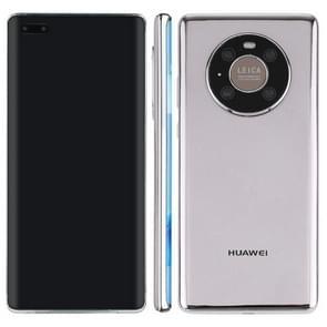 Zwart scherm niet-werkend nep dummy-displaymodel voor Huawei Mate 40 Pro 5G(Zilver)