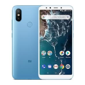 Xiaomi Mi A2, 6GB+128GB, Global Official Version, AI Dual Back Cameras, Fingerprint Identification, 5.99 inch Qualcomm Snapdragon 660 Octa Core up to 2.2GHz, Network: 4G, VoLTE, Dual SIM(Blue)