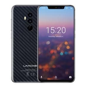 UMIDIGI Z2, Special Edition, Global Dual 4G, 4GB+64GB, Dual Back Cameras + Dual Front Cameras, Face ID & Fingerprint Identification,  6.2 inch Sharp Android 8.1 MTK6763 (Helio P23)  Octa Core up to 2.0GHz, Network: 4G, Dual SIM(Carbon Fiber Black)
