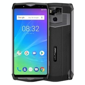 Ulefone Power 5S, Dual 4G, 4 GB + 64 GB, Dual back camera's + Dual Front camera, gezicht ID & fingerprint identificatie, 13000mAh batterij, 6.0 inch Android 8.1 MKT6763 Octa-core 64-bits tot 2,0 GHz, Network: 4 G, Wireless Charge, OTG(Black)