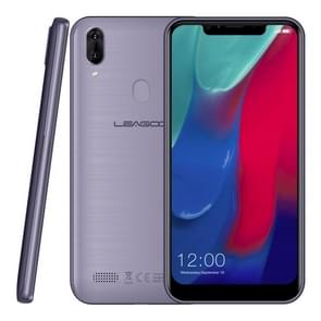 LEAGOO M11, 2GB+16GB, Dual Back Cameras, 4000mAh Battery, Face ID & Fingerprint Identification, 6.18 inch Android 8.1 MTK6739 Quad Core, Network: 4G, Dual SIM(Gray Blue)