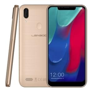 LEAGOO M11, 2GB+16GB, Dual Back Cameras, 4000mAh Battery, Face ID & Fingerprint Identification, 6.18 inch Android 8.1 MTK6739 Quad Core, Network: 4G, Dual SIM(Gold)