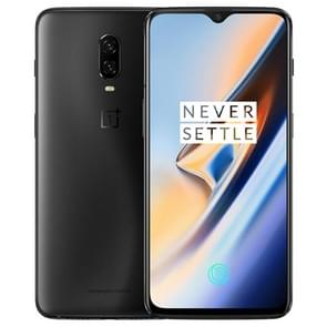 OnePlus 6T, 8GB+256GB, Dual Back Cameras, Face Unlock & Screen Fingerprint Identification, 6.41 inch 2.5D OxygenOS (Android 9.0 Pie) Qualcomm Snapdragon 845 Octa Core up to 2.8GHz, NFC, Bluetooth 5.0, Network: 4G(Midnight Black)