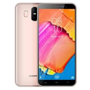 HOMTOM S17, 2GB+16GB, Dual Back Cameras, Face ID & Fingerprint Identification, 5.5 inch Android 8.1 MTK6580 Quad Core up to 1.3GHz, Network: 3G, Dual SIM, OTA(Gold)