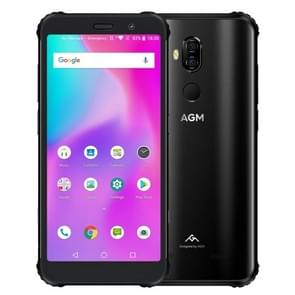 AGM X3 Rugged Phone, 8GB+64GB, IP68 Waterproof Dustproof Shockproof, Face ID & Fingerprint Identification, 4100mAh Battery, 5.99 inch Android 8.1 Qualcomm SDM845 Octa Core, Network: 4G, OTG, NFC, Wireless Charging(Black)