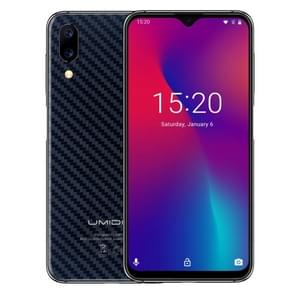 UMIDIGI One Max, 4GB+128GB, Global Band Dual 4G, US Version, Dual Back Cameras, Face ID & Side Fingerprint Identification,  6.3 inch Android 8.1 MTK Helio P23 Octa Core up to 2.0GHz, Network: 4G, NFC, OTG, Dual SIM(Carbon Fiber Black)