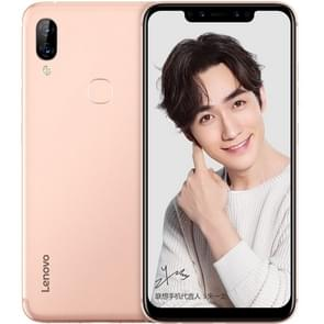Lenovo S5 Pro, 6GB+64GB, Dual AI Back Cameras + Dual Front Cameras, Face ID & Fingerprint Identification, 6.2 inch ZUI 5.0 (Android 8.1) Qualcomm Snapdragon SDM636 Octa Core up to 1.8GHz, Network: 4G (Gold)