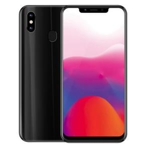 Meiigoo S9, 4 GB + 32 GB, Dual back camera's, gezicht & fingerprint identificatie, 6.18 inch Notch scherm Android 8.1 MTK6750 Octa Core tot maximaal 1,5 GHz, netwerk: 4G(Black)