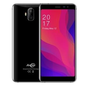 AllCall Rio X, 1GB+8GB, Dual Back Cameras, 5.5 inch Android 8.1 MTK6580M Quad Core, Network: 3G, Dual SIM (Black)