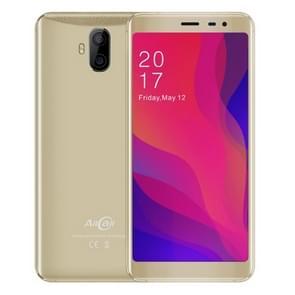 AllCall Rio X, 1GB+8GB, Dual Back Cameras, 5.5 inch Android 8.1 MTK6580M Quad Core, Network: 3G, Dual SIM (Gold)