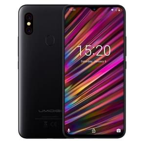 UMIDIGI F1, 4GB+128GB, EU Version, Dual Back Cameras, 5150mAh Battery, Face ID & Fingerprint Identification, 6.3 inch Full Screen Android 9.0 MTK Helio P60 Octa Core up to 2.0GHz, Network: 4G, OTG, NFC, Dual SIM(Black)