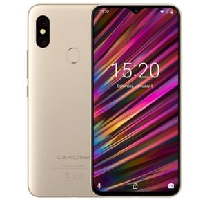 UMIDIGI F1, 4GB+128GB, EU Version, Dual Back Cameras, 5150mAh Battery, Face ID & Fingerprint Identification, 6.3 inch Full Screen Android 9.0 MTK Helio P60 Octa Core up to 2.0GHz, Network: 4G, OTG, NFC, Dual SIM(Gold)