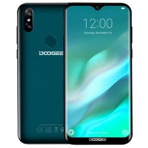 DOOGEE Y8, 3GB+16GB, Dual Back Cameras, Face ID & DTouch Fingerprint,  6.1 inch Water-drop Screen Android 9.0 MTK6739 Quad Core up to 1.5GHz, Network: 4G, NFC, OTA, Dual SIM (Emerald)