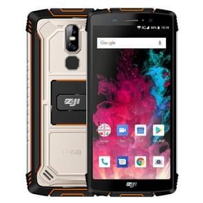 HOMTOM ZOJI Z11 Rugged Phone, 4GB+64GB, IP68 Waterproof Dustproof Shockproof, Dual Back Cameras, 10000mAh Battery, Face ID & Fingerprint Unlock, 5.99 inch Android 8.1 MTK6750T Octa Core up to 1.5GHz, Network: 4G, OTG, Dual SIM (Orange)