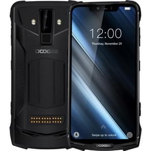 DOOGEE S90 Rugged Phone, 6GB+128GB, IP68 Waterproof Dustproof Shockproof, Dual Back Cameras, Face ID & DTouch Fingerprint, 6.18 inch Screen Android 8.1 MTK6771(P60)4*Cortex-A73 2.0GHz + 4*Cortex-A53  2.0GHz, Network: 4G, NFC, OTA, Dual SIM(Black)
