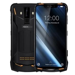 DOOGEE S90 Rugged Phone, 6GB+128GB, IP68 Waterproof Dustproof Shockproof, Dual Back Cameras, Face ID & DTouch Fingerprint, 6.18 inch Screen Android 8.1 MTK6771(P60)4*Cortex-A73 2.0GHz + 4*Cortex-A53  2.0GHz, Network: 4G, NFC, OTA, Dual SIM(Orange)