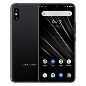 UMIDIGI S3 Pro, 48MP Camera, Global Dual 4G, 6GB+128GB, Dual Back Cameras, 5150mAh Battery, Face ID & Fingerprint Identification, 6.3 inch Android 9.0 MTK Helio P70, 4xCortex-A73 up to 2.1GHz,4xCortex-A53 up to 2.0GHz, Network: 4G, Dual SIM, NFC (Black)