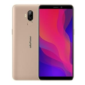 Ulefone Power 3L,  2GB+16GB, Dual Back Cameras, Face ID & Fingerprint Identification, 6350mAh Battery, 6.0 inch Android 8.1 MTK6739 Quad-core 64-bit up to 1.5GHz, Network: 4G, OTG, NFC, Dual SIM (Gold)