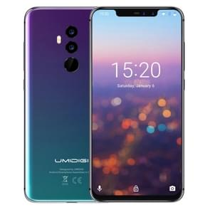 UMIDIGI Z2, Dual 4G, 6 GB + 64 GB, Dual back camera's + Dual Front camera's, gezicht ID & vingerafdruk identificatie, 6.2 inch Android 8.1 MTK6763 (Helio P23) Octa Core maximaal 2.0 GHz, netwerk: 4 G, dubbele SIM(Twilight)