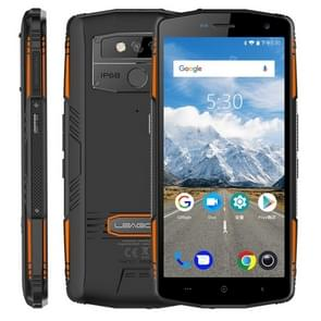 LEAGOO XRover Rugged Phone, 6GB+128GB, IP68 Waterproof Dustproof Shockproof, 5000mAh Battery, Dual Back Cameras, Face ID & Fingerprint Identification, 5.72 inch Android 8.1 MTK6763 Octa Core, Network: 4G, PTT, OTG, NFC(Black)