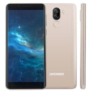 DOOGEE X60L  2GB+16GB  Dual Back Camera's  DTouch Fingerprint Identification  5.5 inch Android 7.0 MTK6737V Quad Core up 1.3GHz  Network: 4G  OTA  Dual SIM(Gold)