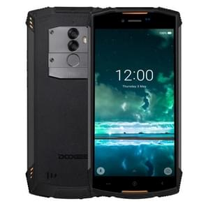 DOOGEE S55 Triple Proofing Phone, 4GB+64GB, IP68 Waterproof Dustproof Shockproof, 5500mAh Battery, Dual Back Cameras, Fingerprint Identification, 5.5 inch Android 8.0 MTK6750T Octa Core up to 1.5GHz, Network: 4G, Dual VoLTE (Orange)