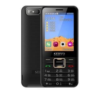 SERVO V8100 Card Mobile Phone, 2.8 inch, SC6531CA,  21 Keys, Support Bluetooth, FM, MP3, GSM, Russian Keyboard(Black)