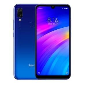 Xiaomi Redmi 7, 3GB+64GB, Gobal Official Version, Face ID & Fingerprint Identification, 4000mAh Battery, 6.26 inch Dot Notch Screen MIUI 10.0 Qualcomm Snapdragon 632 Octa-core up to 1.8GHz, Network: 4G(Dream Blue)
