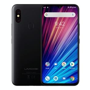 UMIDIGI F1 Play, 6GB+64GB, 48MP Dual Back Cameras, 5150mAh Battery, Face ID & Fingerprint Identification, 6.3 inch Full Screen Android 9.0 MTK Helio P60 Octa Core up to 2.0GHz, Network: 4G, OTG, NFC, Dual SIM (Black)