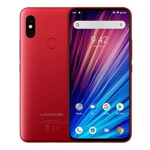 UMIDIGI F1 Play, 6GB+64GB, 48MP Dual Back Cameras, 5150mAh Battery, Face ID & Fingerprint Identification, 6.3 inch Full Screen Android 9.0 MTK Helio P60 Octa Core up to 2.0GHz, Network: 4G, OTG, NFC, Dual SIM(Red)