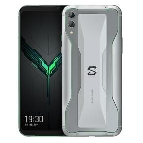 Xiaomi BLACK SHARK Gaming Phone 2, 48MP Camera, 8GB+128GB, Dual Back Cameras, In-screen Fingerprint Identification, 4000mAh Battery, 6.39 inch Full Screen, Qualcomm Snapdragon 855 Octa Core up to 2.84GHz, Network: 4G, SHARK Key(Silver)